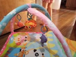 Ginasio divertido para bebe