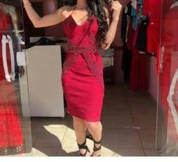 Vestido máfia brasileira