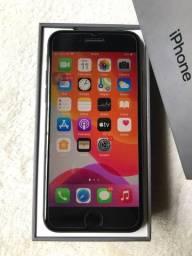 Iphone 8 64gb black impecável completo (aceito cartão)