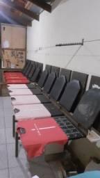 mesa corrida de berços revestidos