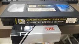 Limpador Cabeçote Vídeo Cassete