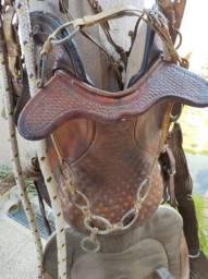 Arreio de cavalo super conservado