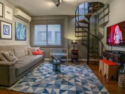 Apartamento à venda com 2 dormitórios em Petrópolis, Porto alegre cod:158921