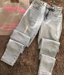 Calça jeans clara NOVA