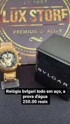 Relógio Bvlgari novo aprova da água