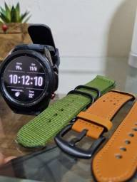 Galaxy Watch3 LTE (45mm) 6 meses de uso + duas pulseiras