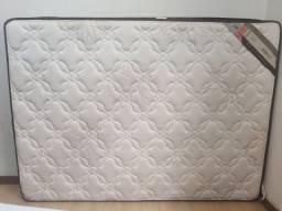 Título do anúncio: Cama Box Castor (colchão casal Castor + cama box) Praticamente Novo