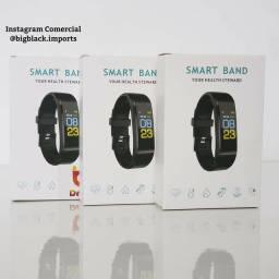 Smartwatch Relogio Inteligente M3 Plus App Yoho Sports Pressão Arterial