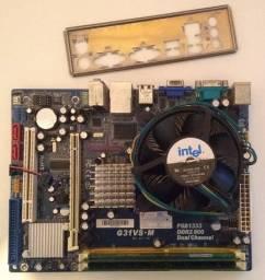Kit Core 2 Duo + 3GB - LGA 775