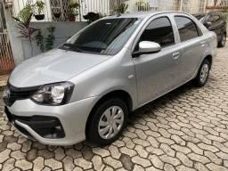 Toyota Etios sedã ÚnicoDono ÓtimoEstado