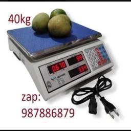 Com Garantia Balança Digital 2g até 40kg