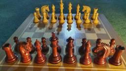 Peças De Xadrez (Jogo de Xadrez Madeira)
