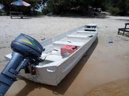 Pra quem gosta de  pescar bote com motor 15