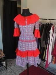 Título do anúncio: Vestido de Quadrilha - Tam M