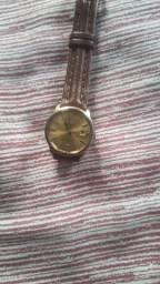 Relógio mido automático foleado a Ouro