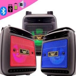 Caixinha de Som Bluetooth Altomex AL-1181 Recarregável Portátil Usb Rádio Fm