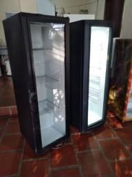 2 geladeira expositora slim adpitada 110
