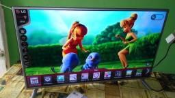 Telona de Cinema 3D Smart LG 55 Led com Wifi Integrado. Aceito Cartão.