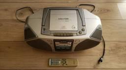 Micro System aiwa Portátil CSD-FD81 - Usado