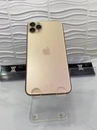 iPhone 11 Pro Max 64gb Gold Seminovo (impecável)
