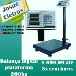 Título do anúncio: Balança digital plataforma 200kg_varejo e atacado entrega a domicílio Jp e regiões