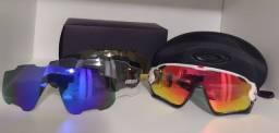 Óculos Ciclismo Oakley Jawbreaker Branco