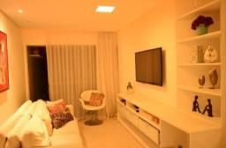 Apartamento arrojado - 3 quartos mobiliado - Localização ímpar
