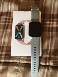 Vendo smartwatch DT93 prata