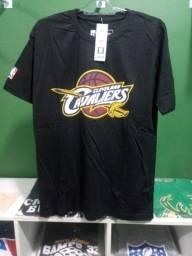 Camisa dos Cavs NBA Preta