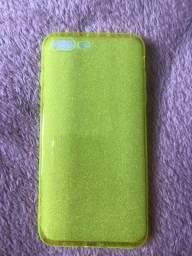 capinha neon para iphone 7/8 plus