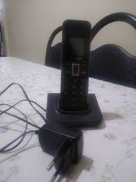 Antena e telefone fixo sem fio
