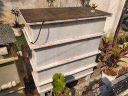 Caixa separadora de água e óleo plástica CSAO para sistemas de remediação