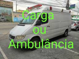 SPRINTER 313  2008 ÚNICO DONO KM 154 MIL APENAS, ótimo p/ Carga , Ambulância ou Motorhome