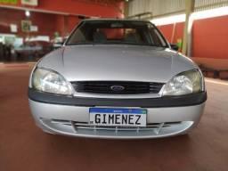 Ford Fiesta Street Sedan Completo Raridade Tudo Original
