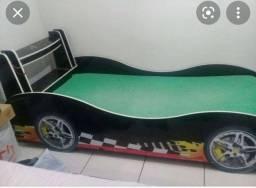 Título do anúncio: Vendo cama de carrinho preta