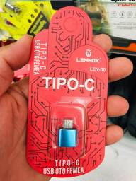 Título do anúncio: ADAPTADOR SMARTPHONE  OTG TIPO USB FÊMEA