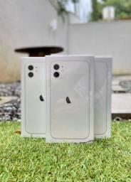 iPhone 11, 64GB - Branco - NOVO