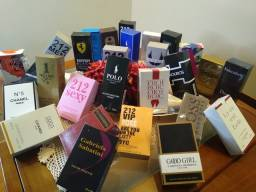 Perfumes e hidratantes