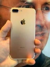 Título do anúncio: Oferta Relâmpago!! Apple iPhone 7 Plus 128GB Vitrine Impecável Garantia Brindes Em Até 18X