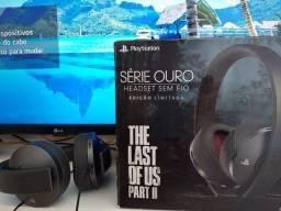 Título do anúncio: Headset sem Fio Série Ouro Edição Limitada The Last of Us Part II Original