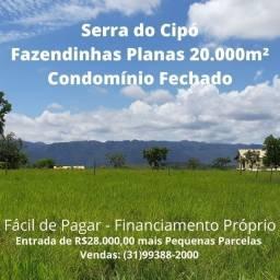 Promoção!!! Fazendinhas 20.000m² Condomínio na Serra do Cipó