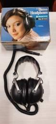 Fones de ouvido antigo marca sanyo