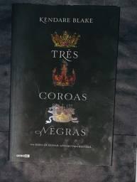 Título do anúncio: Livro três coroas negras