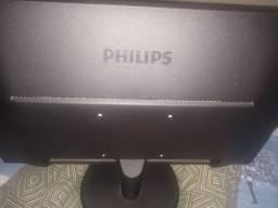 Monitor Philips V 223v5lhsb Lcd 21.5  Preto 110v/220v
