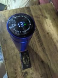 Garrafa térmica com Medidor De temperatura