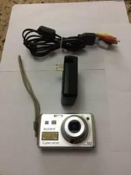 Título do anúncio: Câmera digital Sony CyberShot(Defeito