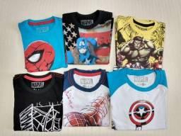 Kit Camisas de Heróis