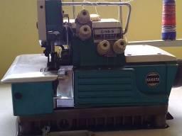 Máquina industrial overloque interlok 5 fio