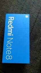 Xiaomi note 8 64 gb branco 1250,00 novo lacrado
