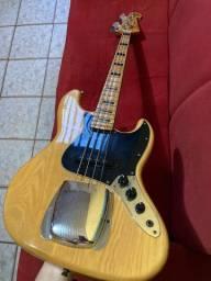 Baixo Sx Jazz Bass (com cobertura de ponte e CAPA INCLUSA)